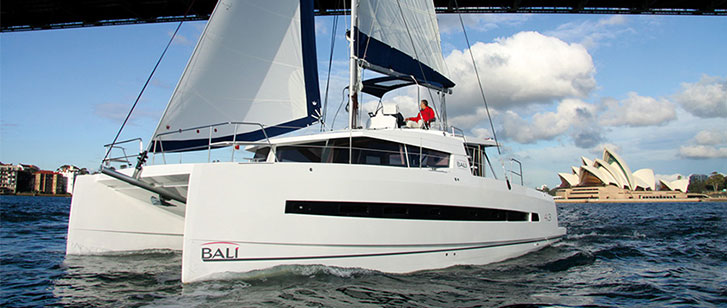 Bali 4 3 Catamaran Charter Croatia Rent Catamarans Main Image