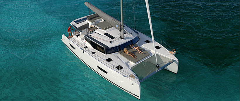 Fountaine Pajot 47 Catamaran Charter