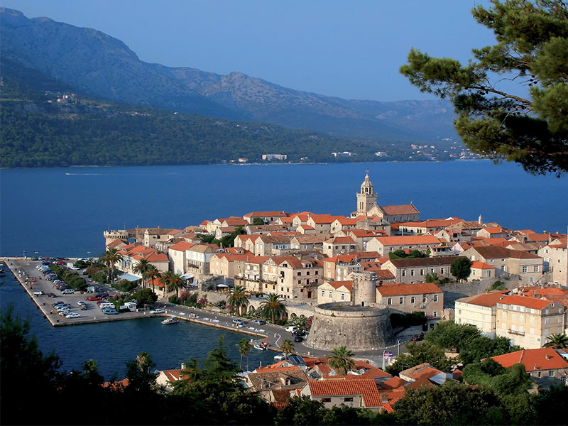 Korcula Catamaran Charter Destination
