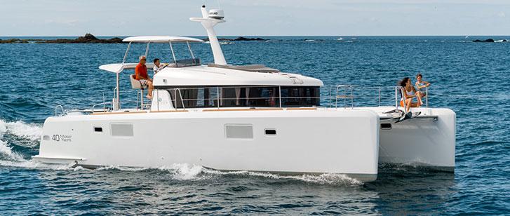Lagoon 40 Motor Yacht Catamaran Charter Croatia Main Image