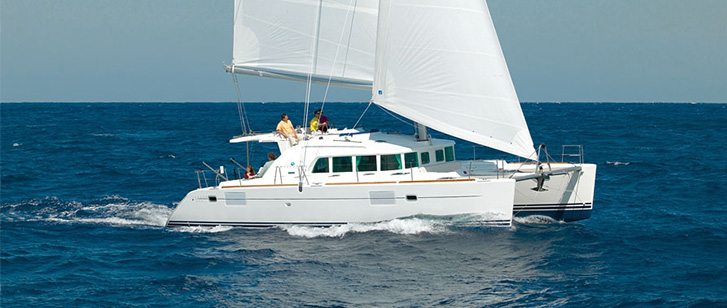 Lagoon 440 Catamaran Charter Croatia Rent Split Dubrovnik Feature