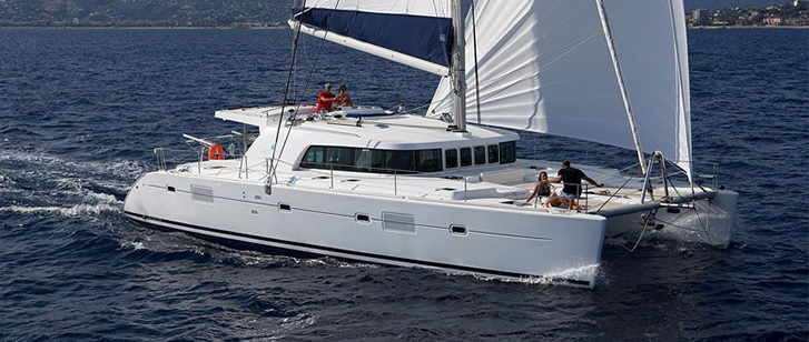 Lagoon 500 Luxury Crewed Catamaran Featured