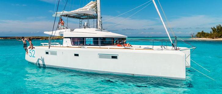 Lagoon 52 Luxury Catamaran Featured Image