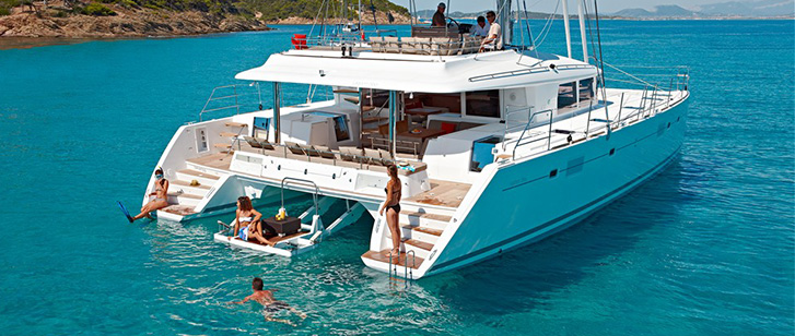 Lagoon 560 Luxury Crewed Catamaran Croatia Featured
