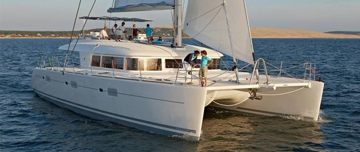Lagoon 620 Luxury Crewed Catamaran Charter Croatia