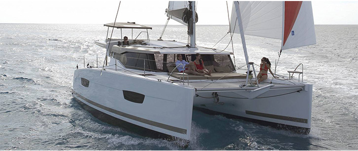 Lucia 40 Catamaran Croatia Rent Featured Image