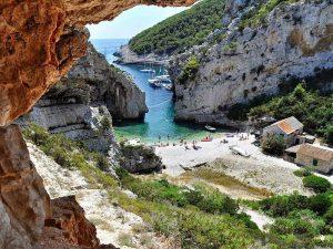 Vis Island Croatia Catamaran Charter Stiniva Cove
