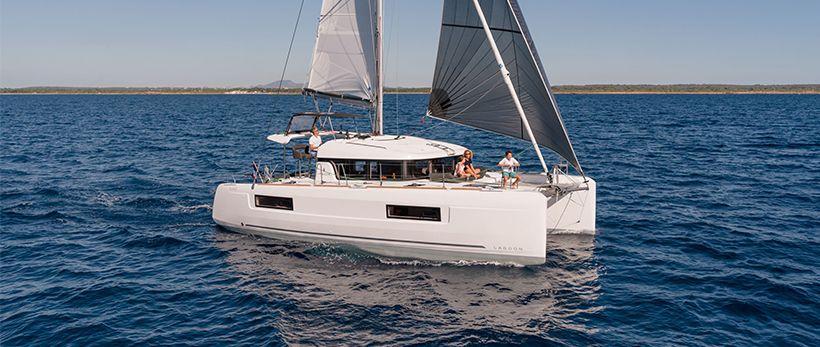 Lagoon 40 Croatia Catamaran Charter Split Dubrovnik Featured