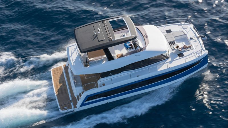 New Fountaine Pajot MY 44 Catamaran For Charter Croatia Arrival