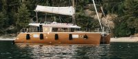 Lagoon 450 F Luxury Catamaran Charter Croatia With Skipper Split Dubrovnik Featured