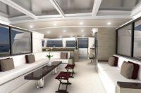 Bali 5.4 Catamaran Saloon