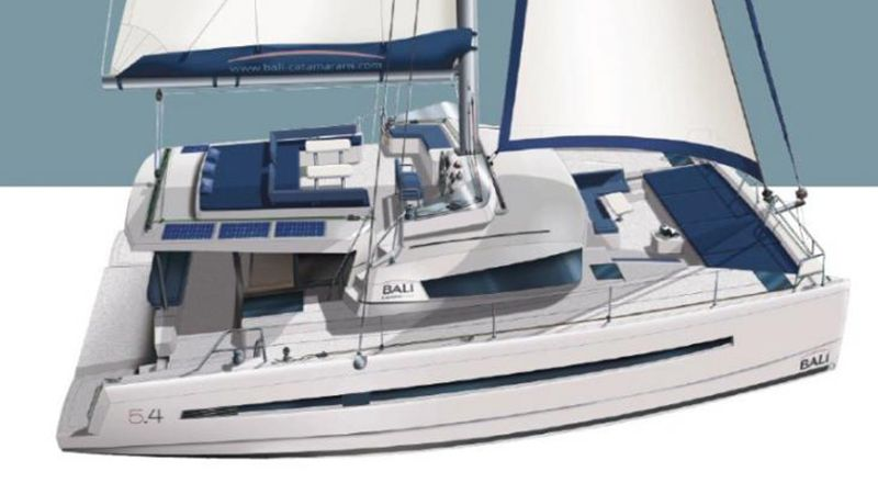 New Bali 5 4 Luxury Catamaran Charter In Croatia