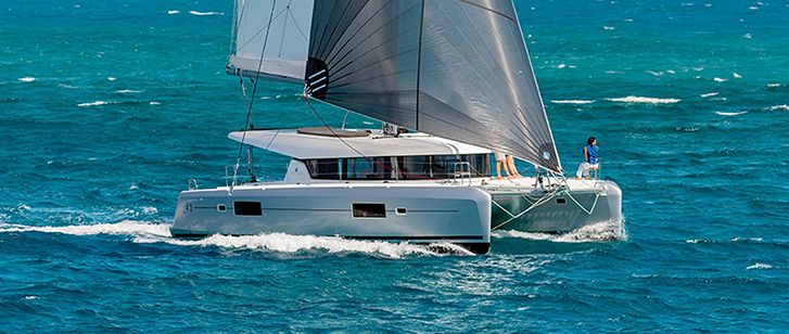Lagoon 42 AURA Luxury All Inclusive Catamaran Charter Croatia