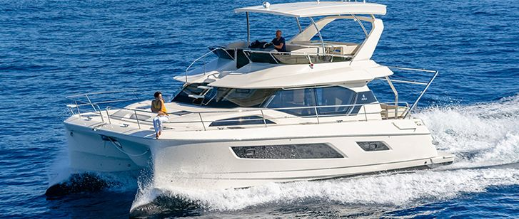 Aquila 44 Luxury Catamaran Croatia Rogoznica Split Sailing Area