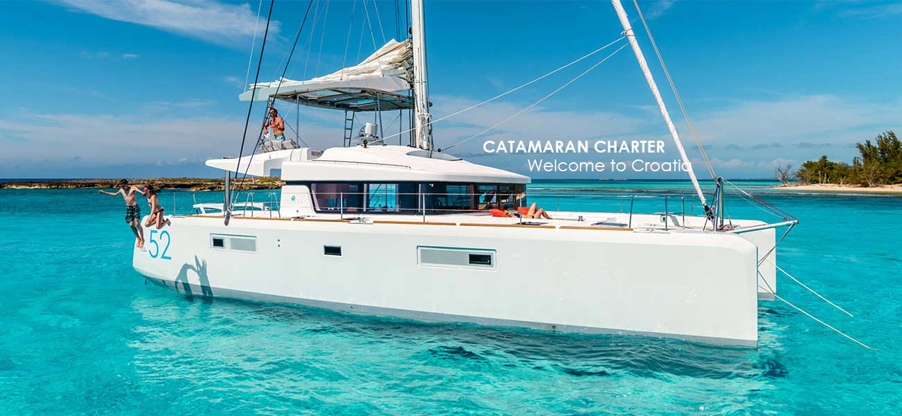 Catamaran Charter Croatia 1